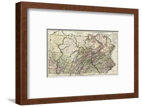 Pennsylvania, c.1797-Daniel Friedrich Sotzmann-Framed Art Print