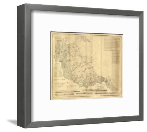 Boston Harbor, Massachusetts, c.1857--Framed Art Print