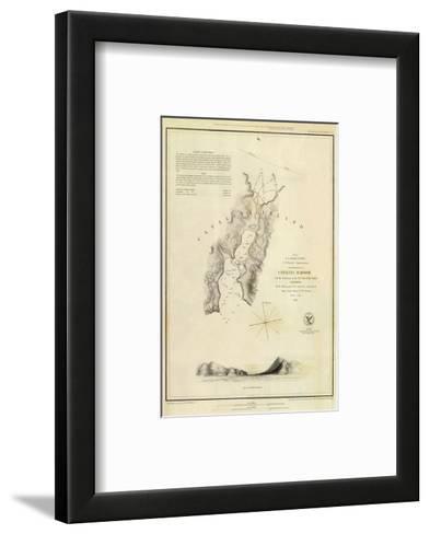 Catalina Harbor, California, c.1852--Framed Art Print