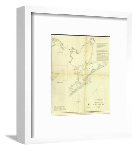 Galveston Bay, Texas, c.1852--Framed Art Print
