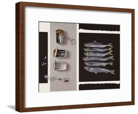 Toute une Vie de Poisson-Jean Marc Chamard-Framed Art Print