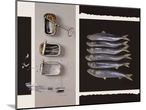 Toute une Vie de Poisson-Jean Marc Chamard-Mounted Art Print