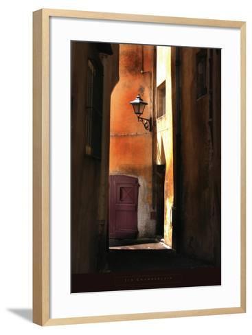Siena Alley II-Jim Chamberlain-Framed Art Print