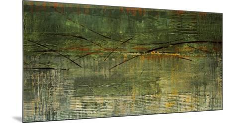 A Green Streak-Elizabeth Jardine-Mounted Art Print