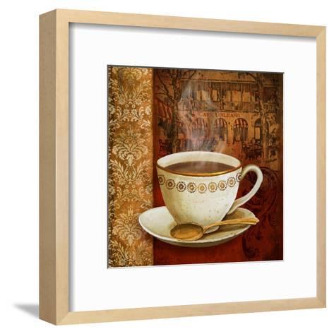 Cafe du Boulevard I-Conrad Knutsen-Framed Art Print