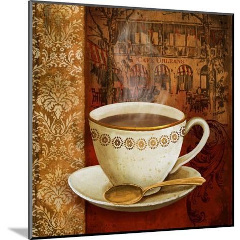 Cafe du Boulevard I-Conrad Knutsen-Mounted Art Print