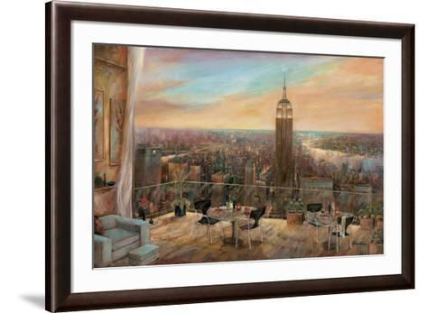 A New York View-Ruane Manning-Framed Art Print