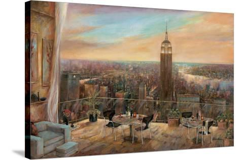 A New York View-Ruane Manning-Stretched Canvas Print