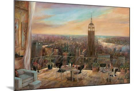 A New York View-Ruane Manning-Mounted Art Print