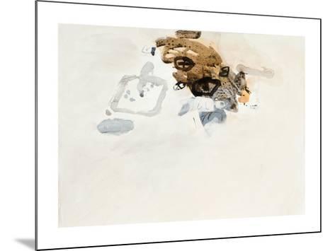 Rendre Compte, 2008-Gabriel Belgeonne-Mounted Serigraph