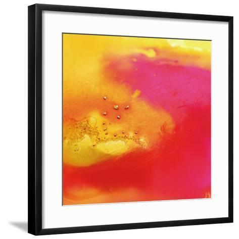 Yellow, Orange, and Pink Swirl, c. 2008-Pier Mahieu-Framed Art Print
