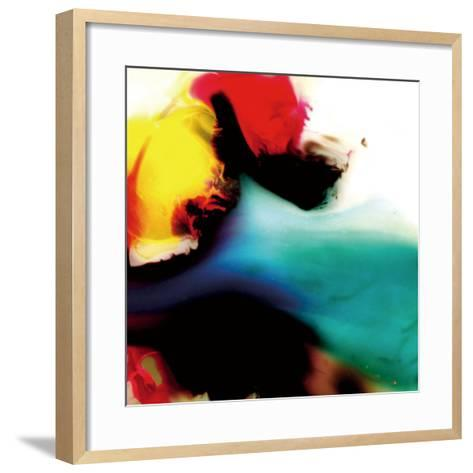 Multicolored Abstract Intersection, c. 2008-Pier Mahieu-Framed Art Print