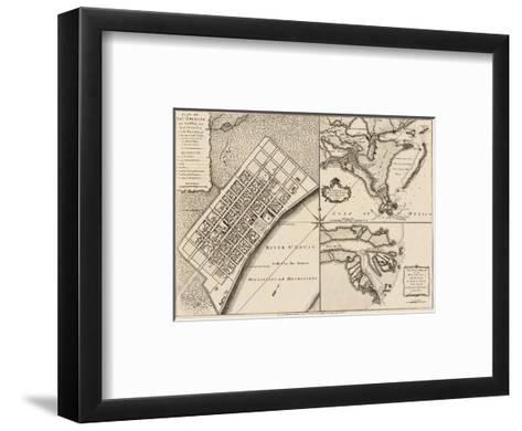 New Orleans, Louisiana, c.1759-Thomas Jefferys-Framed Art Print
