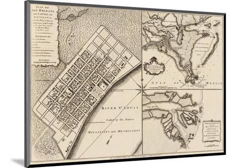 New Orleans, Louisiana, c.1759-Thomas Jefferys-Mounted Art Print