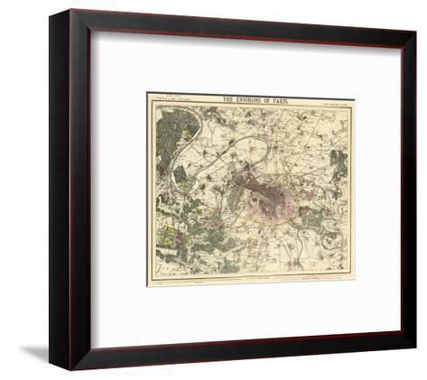 Environs Paris, c.1883--Framed Art Print