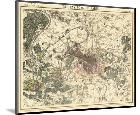 Environs Paris, c.1883--Mounted Art Print