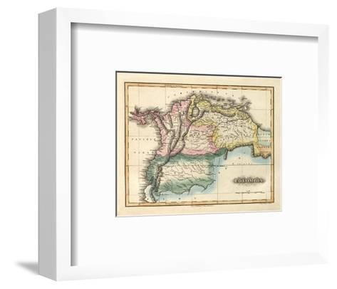 Colombia, c.1823-Fielding Lucas-Framed Art Print