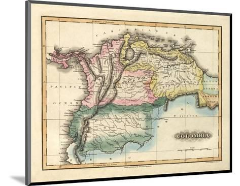 Colombia, c.1823-Fielding Lucas-Mounted Art Print