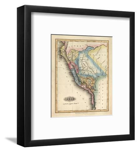 Peru, c.1823-Fielding Lucas-Framed Art Print