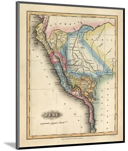 Peru, c.1823-Fielding Lucas-Mounted Art Print