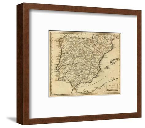 Spain, Portugal, c.1812-Aaron Arrowsmith-Framed Art Print