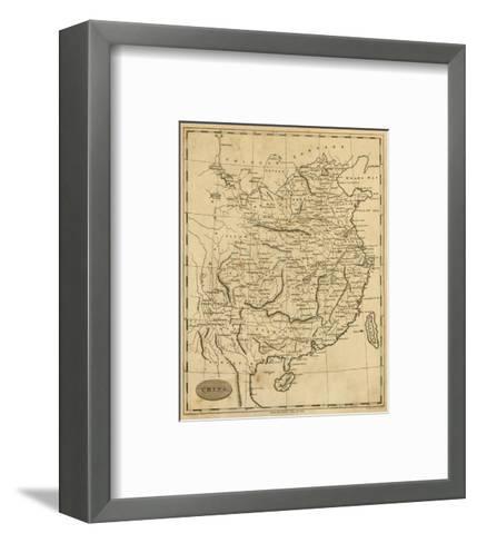 China, c.1812-Aaron Arrowsmith-Framed Art Print