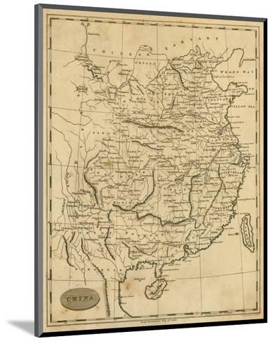 China, c.1812-Aaron Arrowsmith-Mounted Art Print