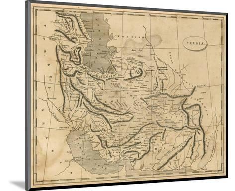 Persia, c.1812-Aaron Arrowsmith-Mounted Art Print