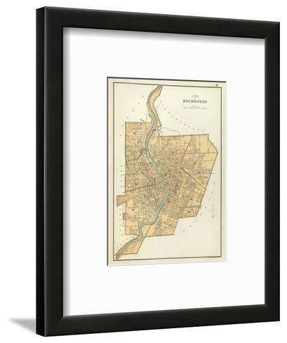 Rochester, New York, c.1895-Joseph Rudolf Bien-Framed Art Print