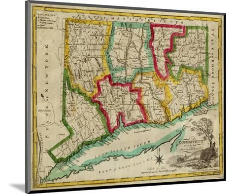 State of Connecticut, c.1827-Amos Doolittle-Mounted Art Print
