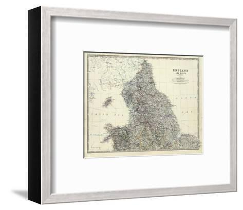 England, North Wales, c.1861-Alexander Keith Johnston-Framed Art Print
