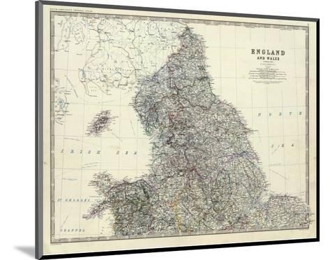 England, North Wales, c.1861-Alexander Keith Johnston-Mounted Art Print