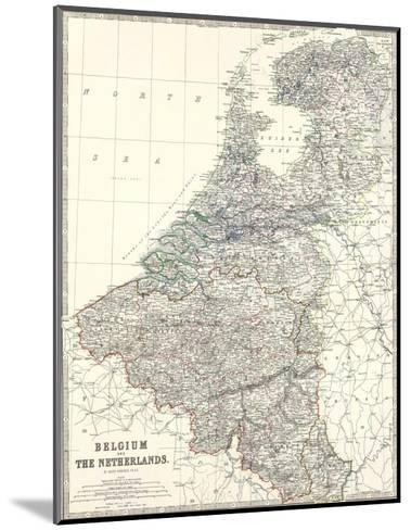 Belgium, Netherlands, c.1861-Alexander Keith Johnston-Mounted Art Print
