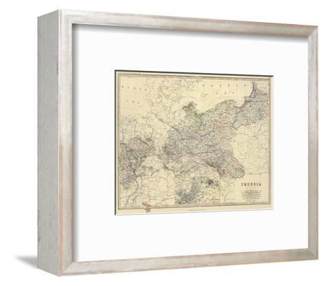 Prussia, c.1861-Alexander Keith Johnston-Framed Art Print