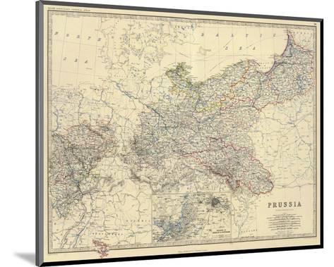 Prussia, c.1861-Alexander Keith Johnston-Mounted Art Print