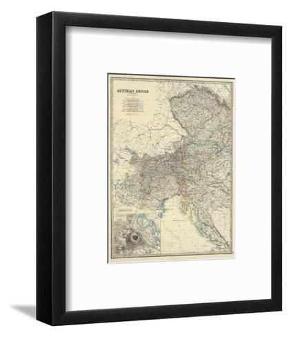 Austria West, c.1861-Alexander Keith Johnston-Framed Art Print