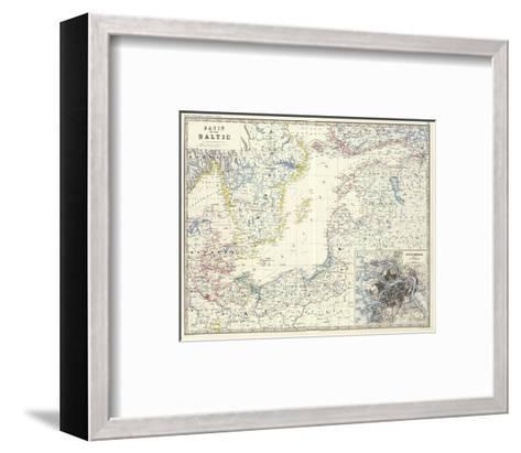 Baltic, c.1861-Alexander Keith Johnston-Framed Art Print