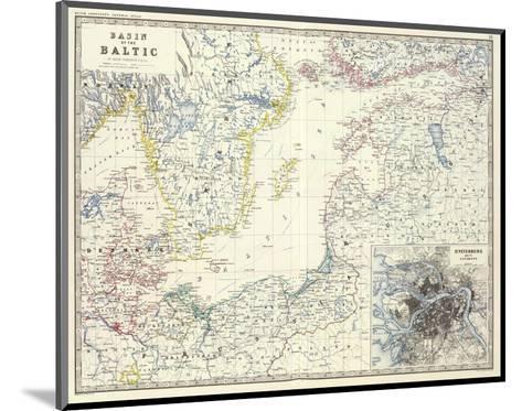 Baltic, c.1861-Alexander Keith Johnston-Mounted Art Print