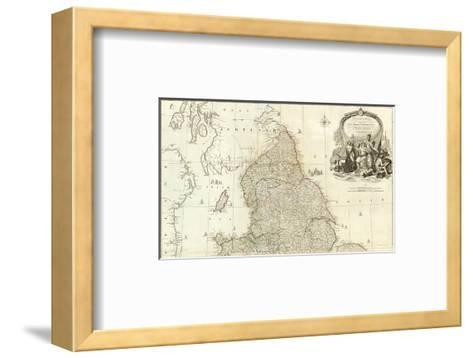 England and Wales (Northern section), c.1790-John Rocque-Framed Art Print