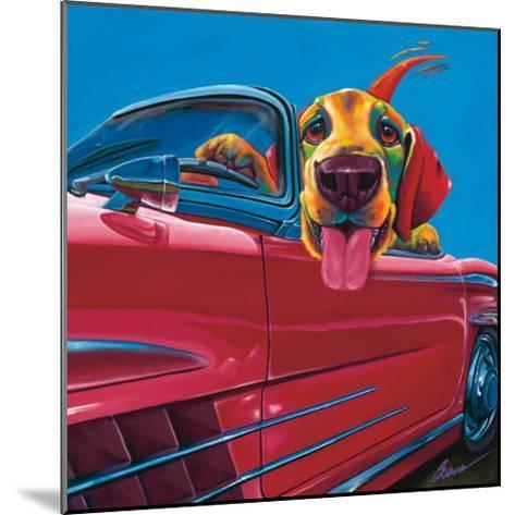 Dog About Town-Ron Burns-Mounted Art Print