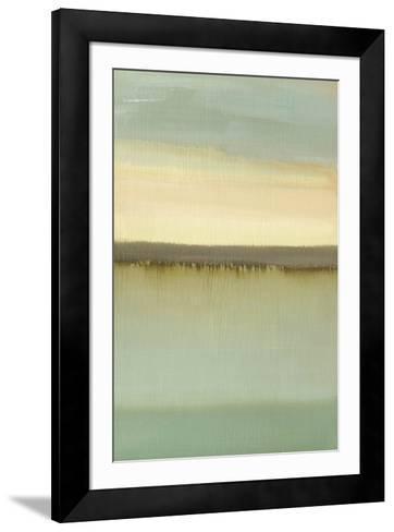 Dusk-Caroline Gold-Framed Art Print