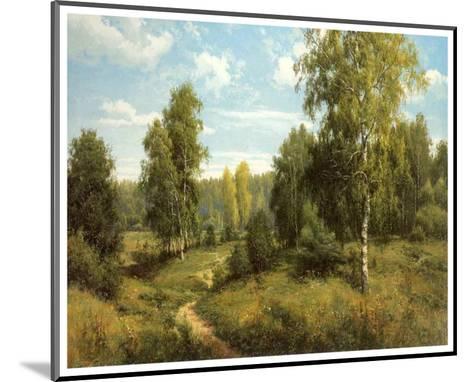 Summer Way-Igor Priscepa-Mounted Art Print