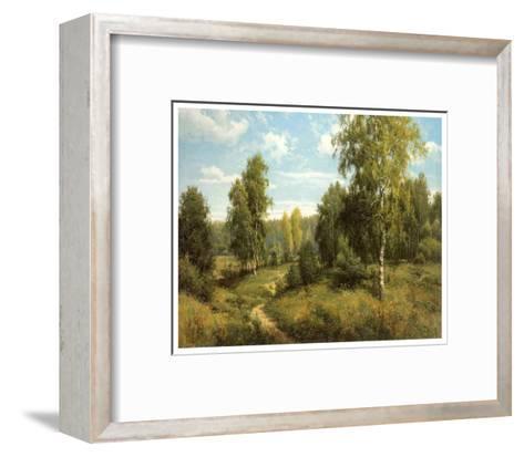 Summer Way-Igor Priscepa-Framed Art Print