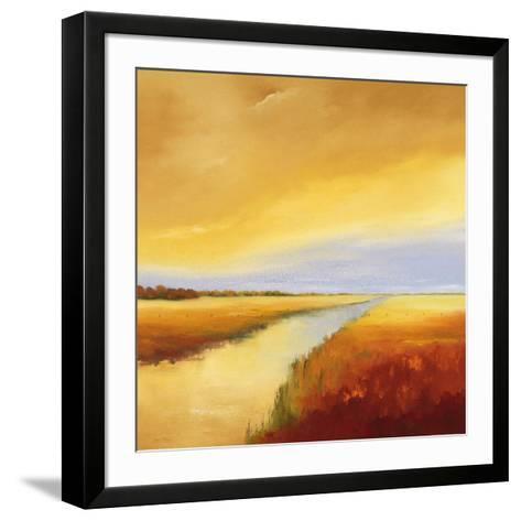 Down the River II-Hans Paus-Framed Art Print