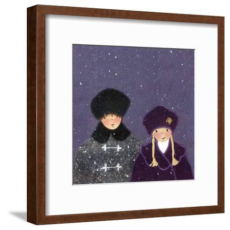 Snowy Day I-Diane Ethier-Framed Art Print