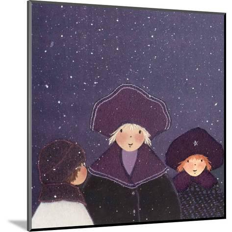 Snowy Day II-Diane Ethier-Mounted Art Print