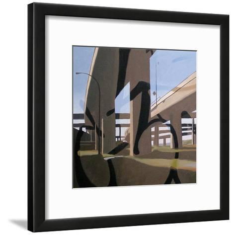Reminiscent of Exploits-James Nye-Framed Art Print