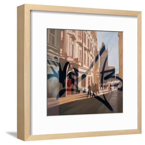 From Old Town II-James Nye-Framed Art Print