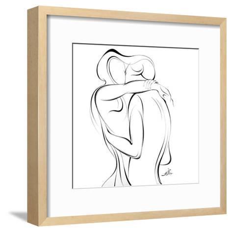 United Couple XVIII-Alijan Alijanpour-Framed Art Print