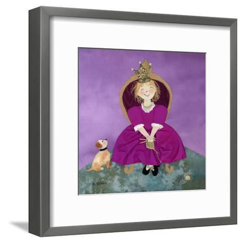 The Queen-Diane Ethier-Framed Art Print
